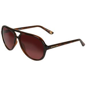 MICHAEL MICHAEL KORS Caicos Aviator Sunglasses - Tortoise