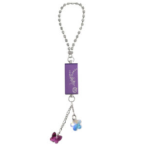 View Quest Intelligent Jewellery 8GB Flash Drive - Purple