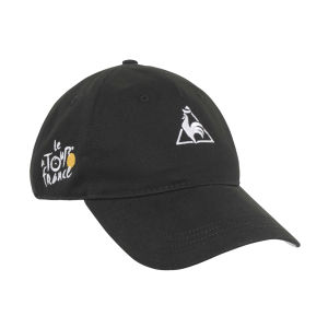 Le Coq Sportif Tour de France Cap - Black