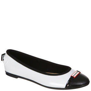 Hunter Women's Curzon Ballerina Shoes - Ice White