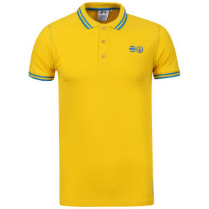 Crosshatch Men's Gladstone Polo Shirt - Freesia