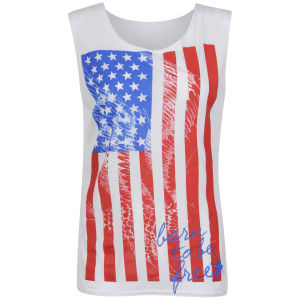 Influence Women's America Vest - White