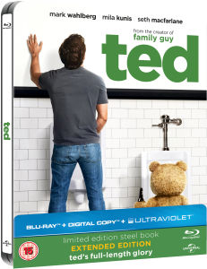 Ted - Limited Edition Steelbook (Includes Digital and UltraViolet Copies)