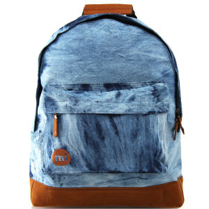 Mi- Pac Premium Denim Dye Backpack - Denim Dye Blue