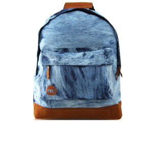 Mi-Pac Premium Denim Dye Backpack - Denim Dye Blue
