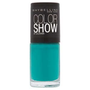 Maybelline New York Color Show Nail Lacquer - 120 Urban Turquoise 7ml