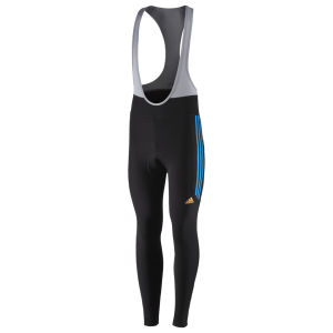 Adidas Response Bib Tights - Black/Solar Blue