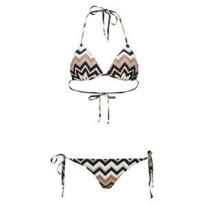 Boutique Women's Triangle Bikini - Gold