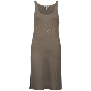 Chloe Women's Vest Dress - Brown