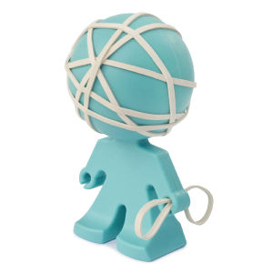 Rafael Rubber Band Holder - Aqua