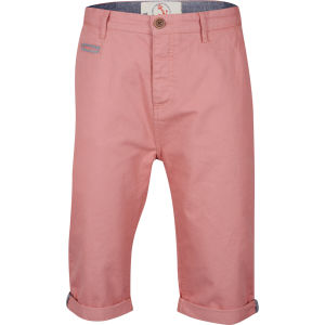 Brave Soul Men's Poland Chino Shorts - Coral