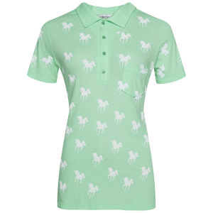 Wildfox Women's Unicorn Prep T-Shirt - Mint Julep
