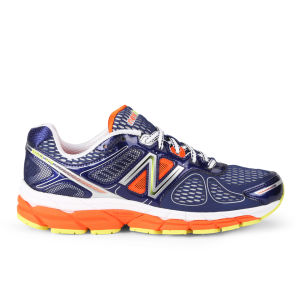 New Balance Men's M860 V4 Stability Running Shoes - Blue/Orange