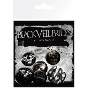 Black Veil Brides Darkest - Badge Pack