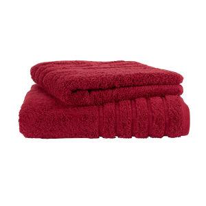 Kingsley Lifestyle Towel - Sangria
