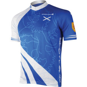 Endura Coolmax Scotland Flag Cycling Jersey
