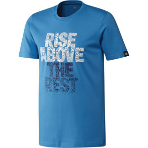 adidas Men's Above The Rest T-Shirt - Solar Blue
