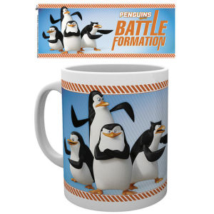 Penguins of Madagascar Battle Formation Taza