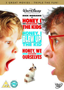 Honey, I Shrunk The Kids / Honey, I Blew Up The Kid / Honey, We Shrunk Ourselves