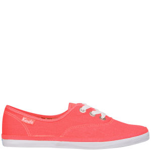 Keds Women's Champion Oxford Pumps - Neon Coral