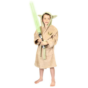 Star Wars Yoda Kids Fleece Bathrobe - Large