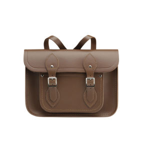 The Cambridge Satchel Company 11 Inch Leather Satchel Backpack - Vintage