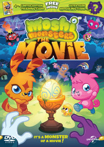 Moshi Monsters: The Movie - Limited Edition (Includes Trading Card, Ultra-Rare in Game Moshling Code and UltraViolet Copy)