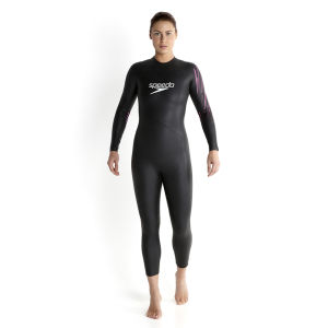 Speedo Women's Event Full Suit - Black/Pink