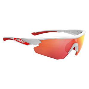 Salice 012 RW Sport Sunglasses - White/Red