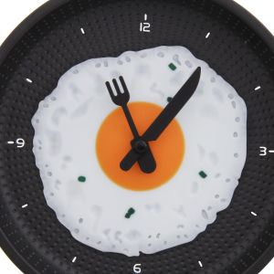 Frying Pan Shaped Clock