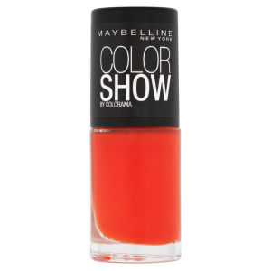 Maybelline New York Color Show Nail Lacquer - 341 Orange Attack 7ml