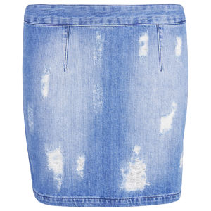 Gestuz Women's Scarlett Skirt - Denim Blue