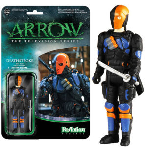 ReAction DC Comics Arrow Deathstroke 3 3/4 Inch Action Figure