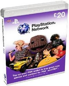 Playstation Network Card (PSN) - £20