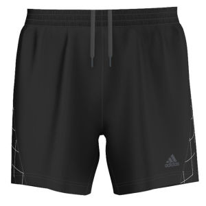 Adidas Men's Super Nova 5 Inch Running Short - Black/Black