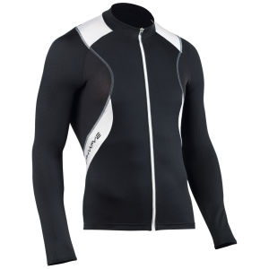 Northwave Sonic Long Sleeve Jersey - White/Black/Red