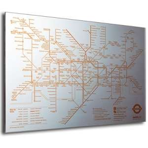 Tube Map Mirror