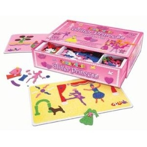Fuzzy Felts Glitter Princess Deluxe Set