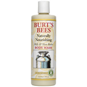 Burt's Bees Milk & Shea Butter Body Wash (350ml)