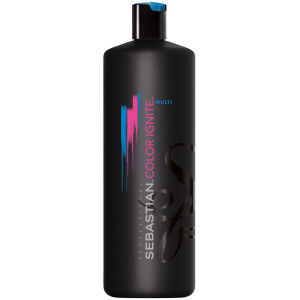 SEBASTIAN PROFESSIONAL COLOR IGNITE MULTI SHAMPOO (1000ML) - (Worth £56.00)