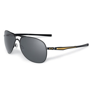 Oakley Men's Plaintiff Matte Polarized Shaun Sunglasses - Black