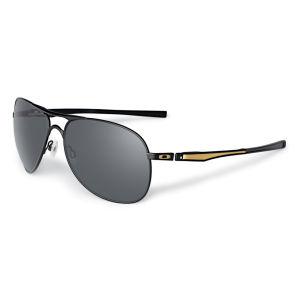 Oakley Men's Plaintiff Matte Polarized Shaun Sunglasses - Black