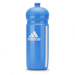adidas Unisex Classic Water Bottle 0.5L - Solar Blue/White