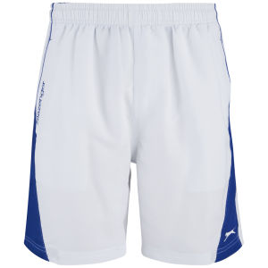 Slazenger Men's Rix Woven Shorts - White/Blue