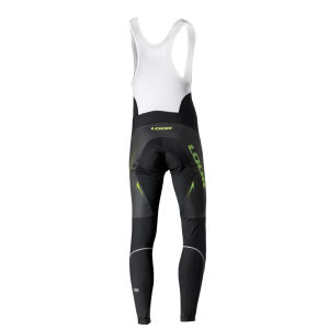 Look Pro Team Bib Tights - Black/Fluorescent Green