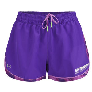 Under Armour Pantaloncini da Donna Great Escape, Pride/Viola