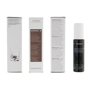 Korres Quercetin and Oak Anti-Ageing, Anti-Wrinkle Day Cream - Normal to Dry Skin SPF12 (50ml)