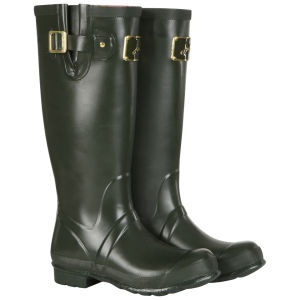Joules Women's Posh Wellies - Green
