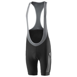 Adidas Supernova Bib Shorts - Black/Tech Grey