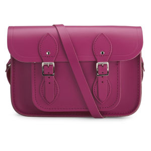 The Cambridge Satchel Company Women's 11 Inch Leather Satchel - Hot Pink